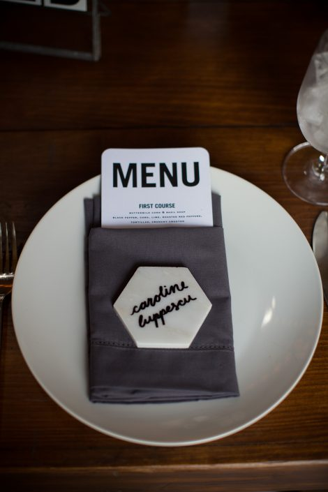 Minted- wedding menu- table setting-name place