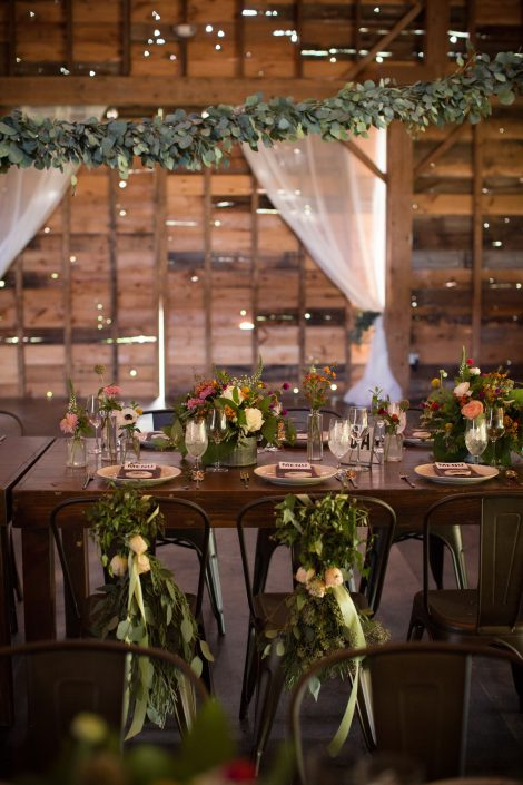 Klw design co- barn wedding- rustic