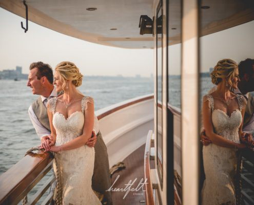 yacht wedding - luxury destination wedding venues