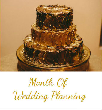 Month Of Wedding Planning
