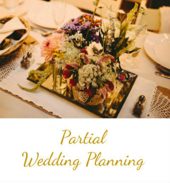 Partial Wedding Planning