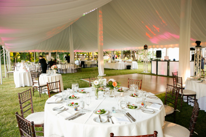 Tent Wedding at a Private Estate
