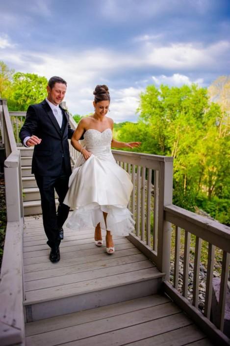 bride and groom Diamond Mills