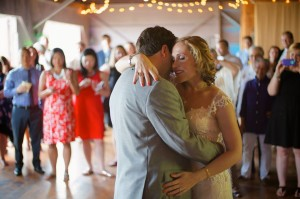 Jen and Chris dancing | Kaaterskill Wedding
