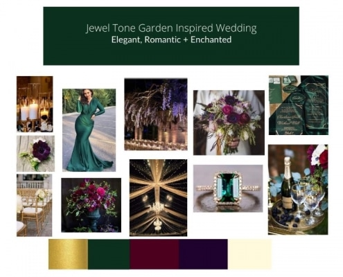 mood board - how to design your wedding