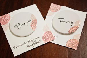 custom escort cards