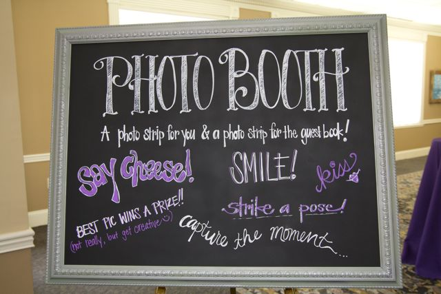How much fun is the photo booth?! Grab a prop, strike a pose and smile ...
