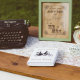 Vintage typewriter and wish notes