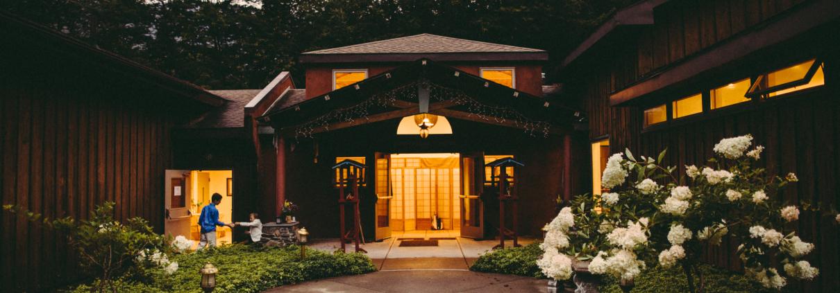 menla conference center - rustic wedding venue