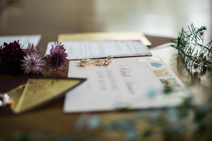 marsala wedding invitation