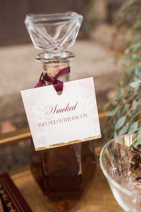 infused - whiskey bottle