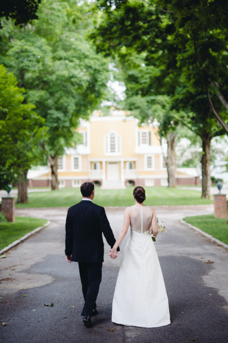 Boscobel House & Gardens wedding