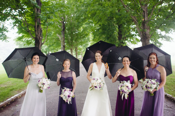 Boscobel wedding - bridal party