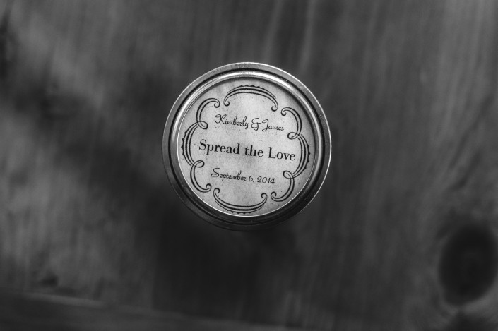 apple butter wedding favors