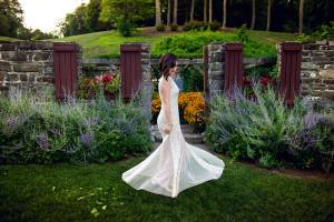 wedding shoot- bride - winding hills golf club