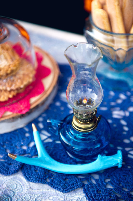 oil lamp - wedding design