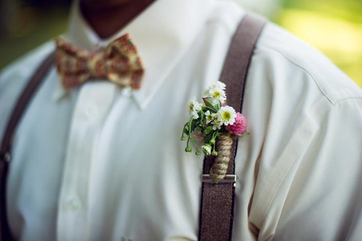 groom - dancing tulip floral