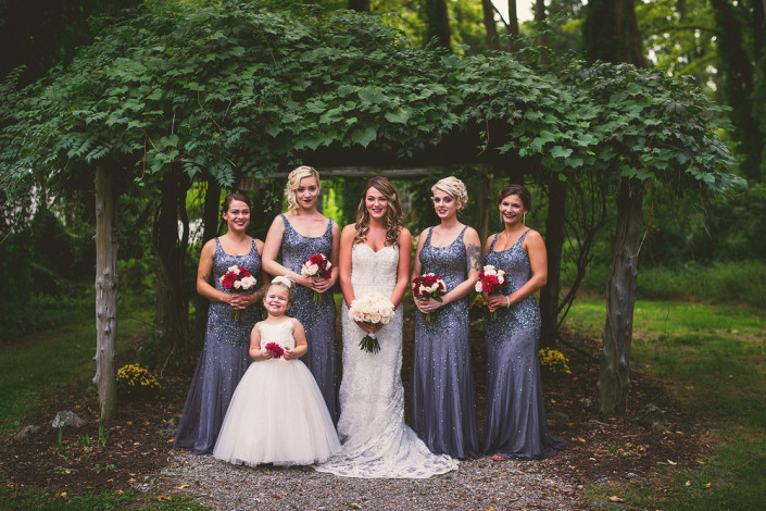 wedding party - Mount Gulian wedding