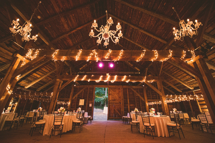 Mount Gulian Barn wedding