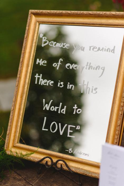quote - oak hill wedding