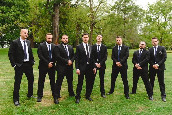 groomsmen - oak hill wedding