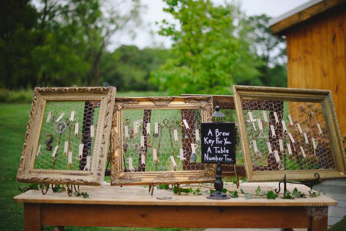 bottle openers - wedding favor - oak hill wedding