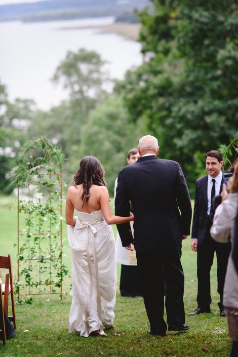 oak hill wedding ceremony