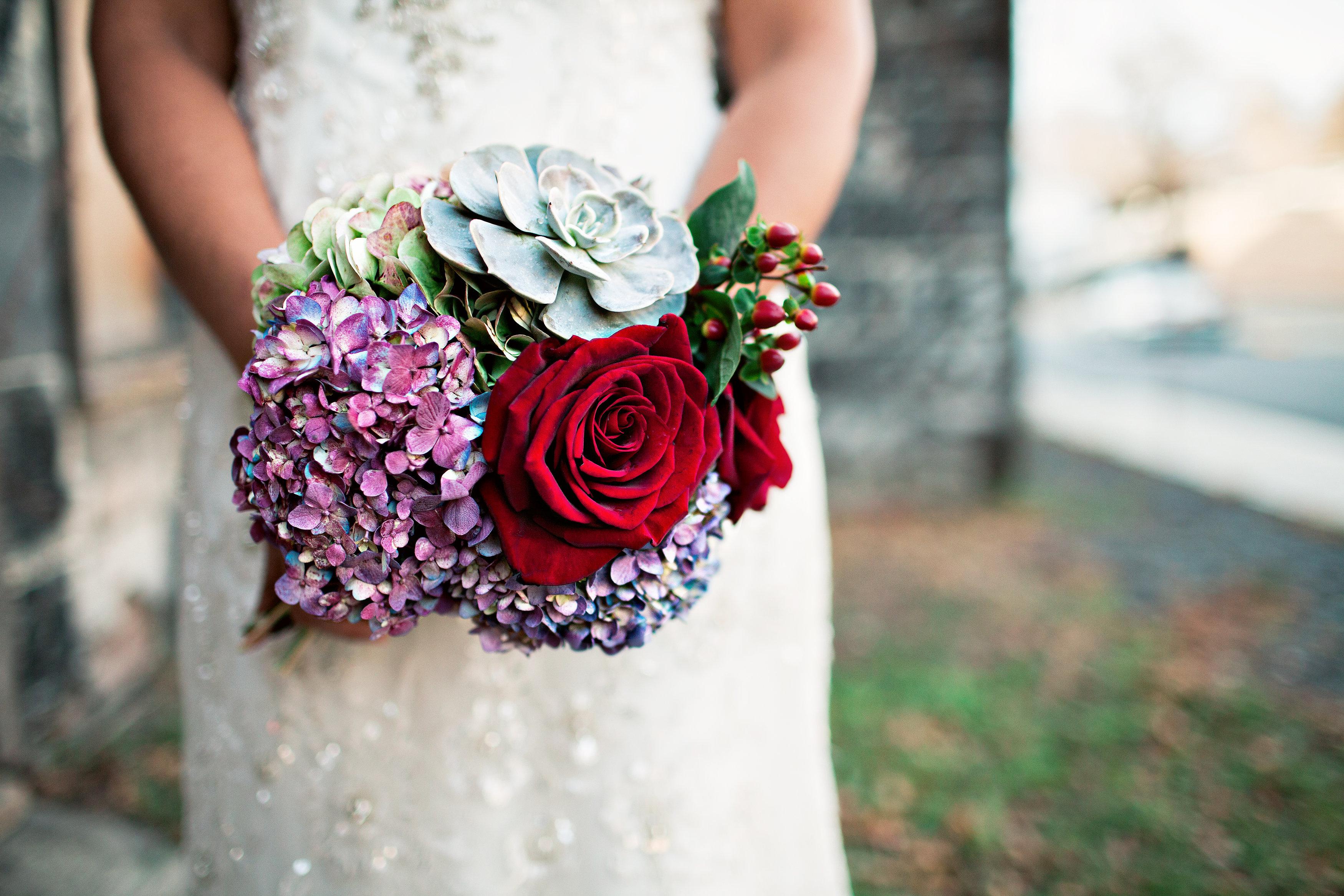 bouquet - Helsinki wedding