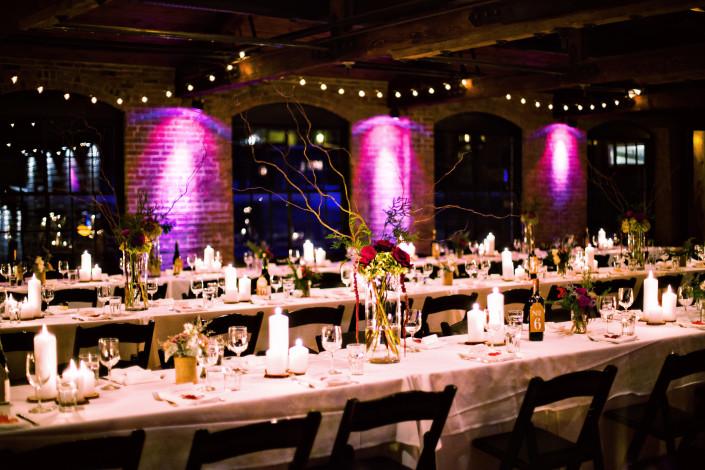 Club Helsinki wedding reception