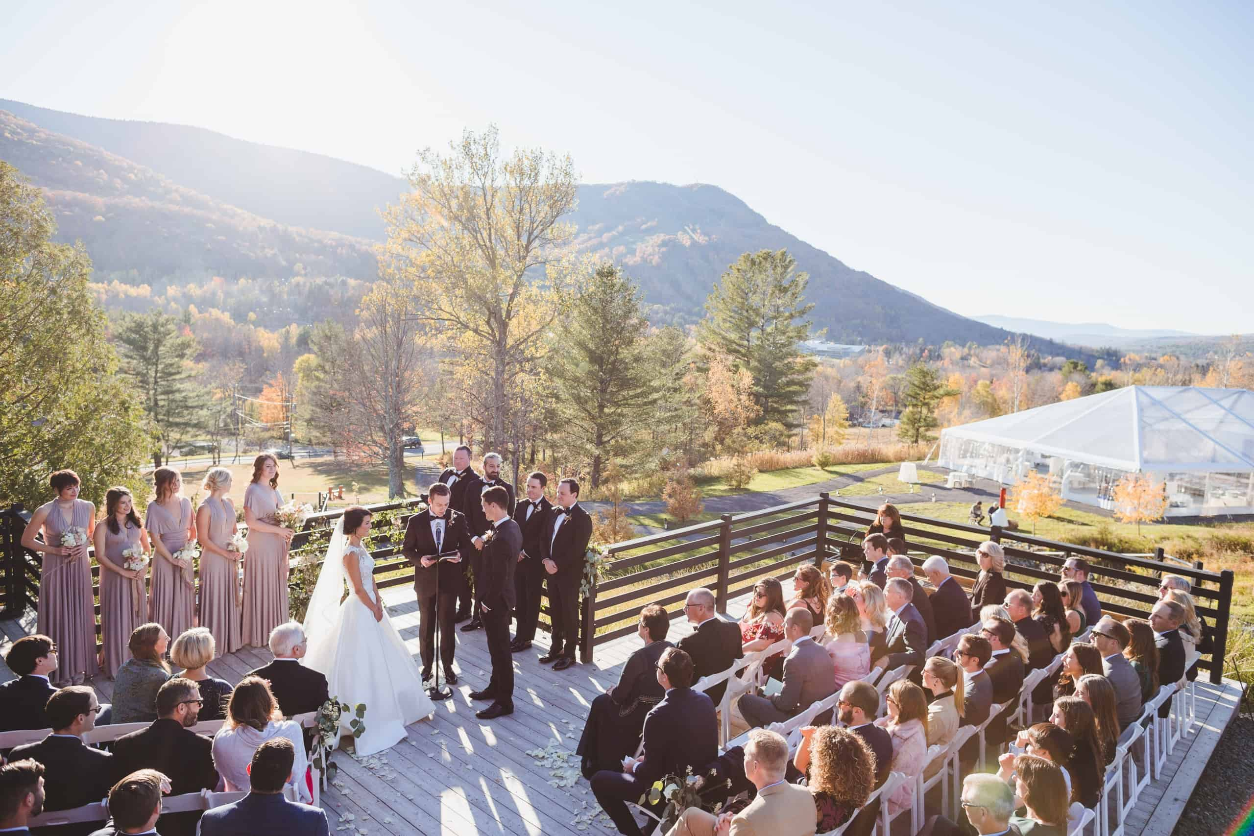 Scriber's lodge - Hunter NY wedding