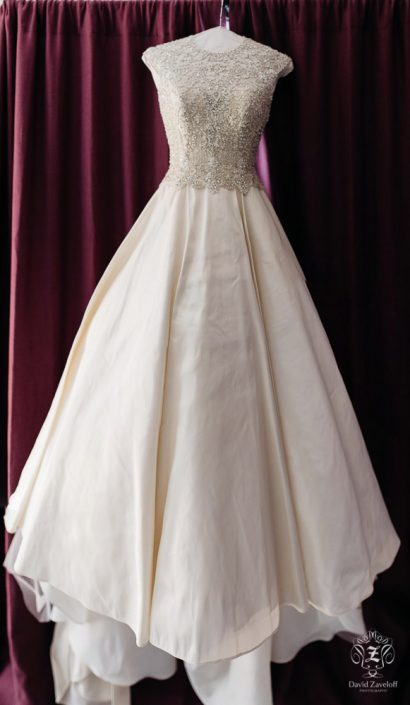 wedding gown - handsome hollow