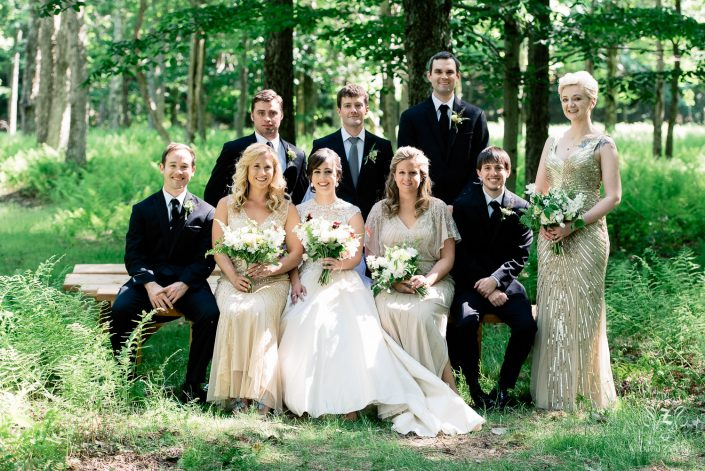 bridal party - ceremony handsome hollow