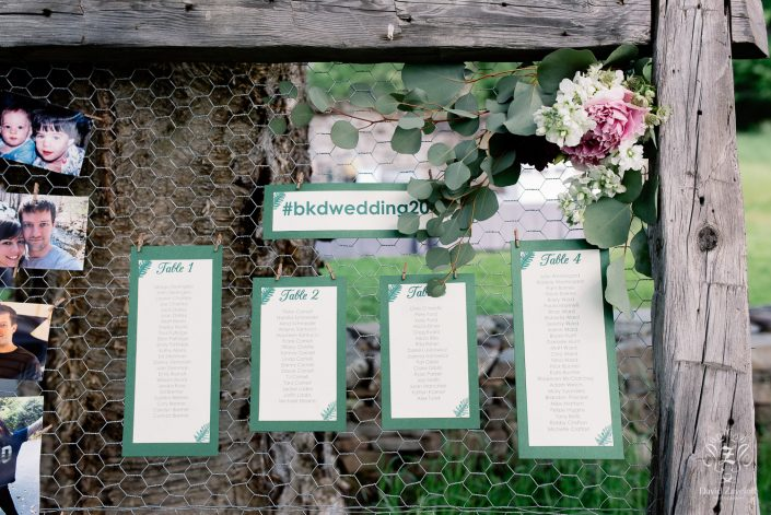 seating assignment - handsome hollow wedding