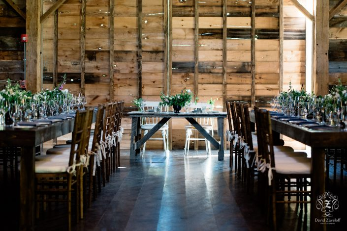sweetheart table - handsome hollow barn wedding