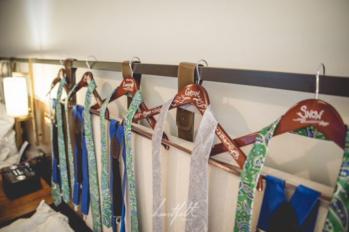 groomsmen ties - NYC wedding