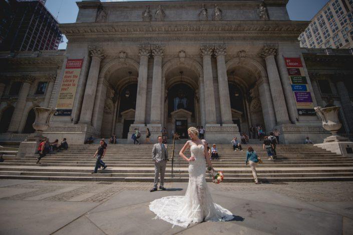 NY Library - NYC wedding