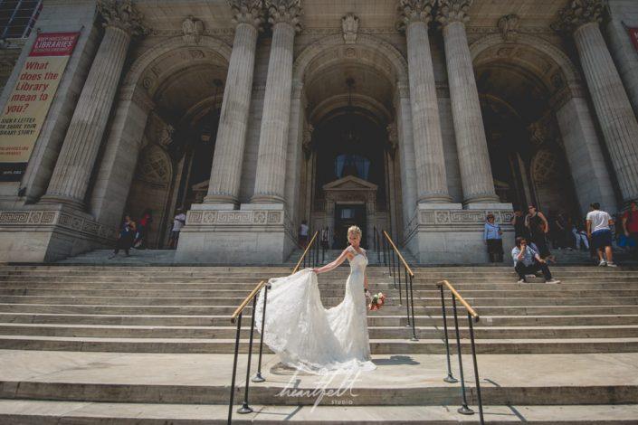 NY Public Library wedding