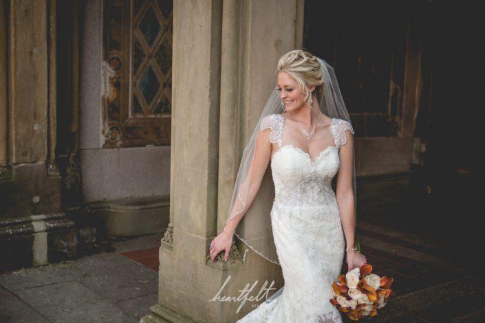 bride in central park