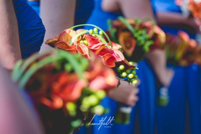 bouquets - NYC wedding