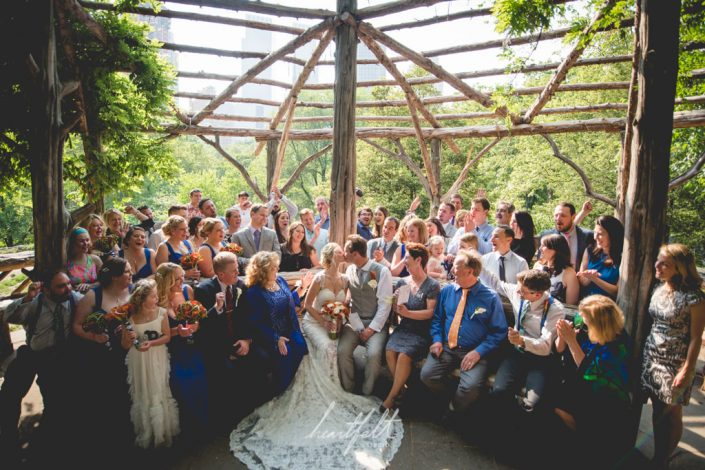ceremony in central park NYC