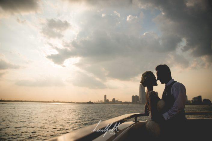 yacht wedding NYC - luxury destination wedding venues