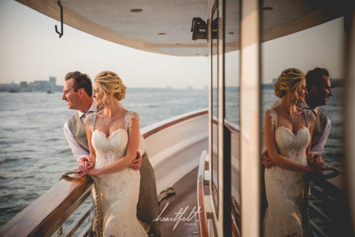 yacht wedding - NYC wedding planner