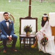 bride and groom lounge tent - handsome hollow
