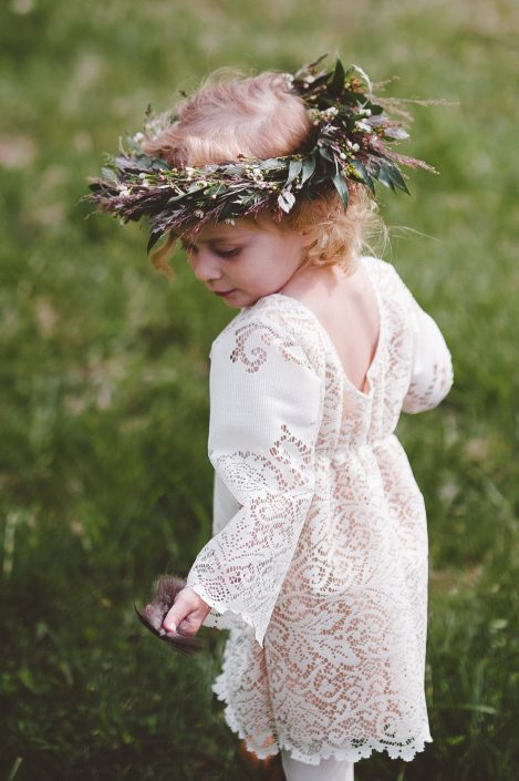 boho flower girl | Handsome Hollow