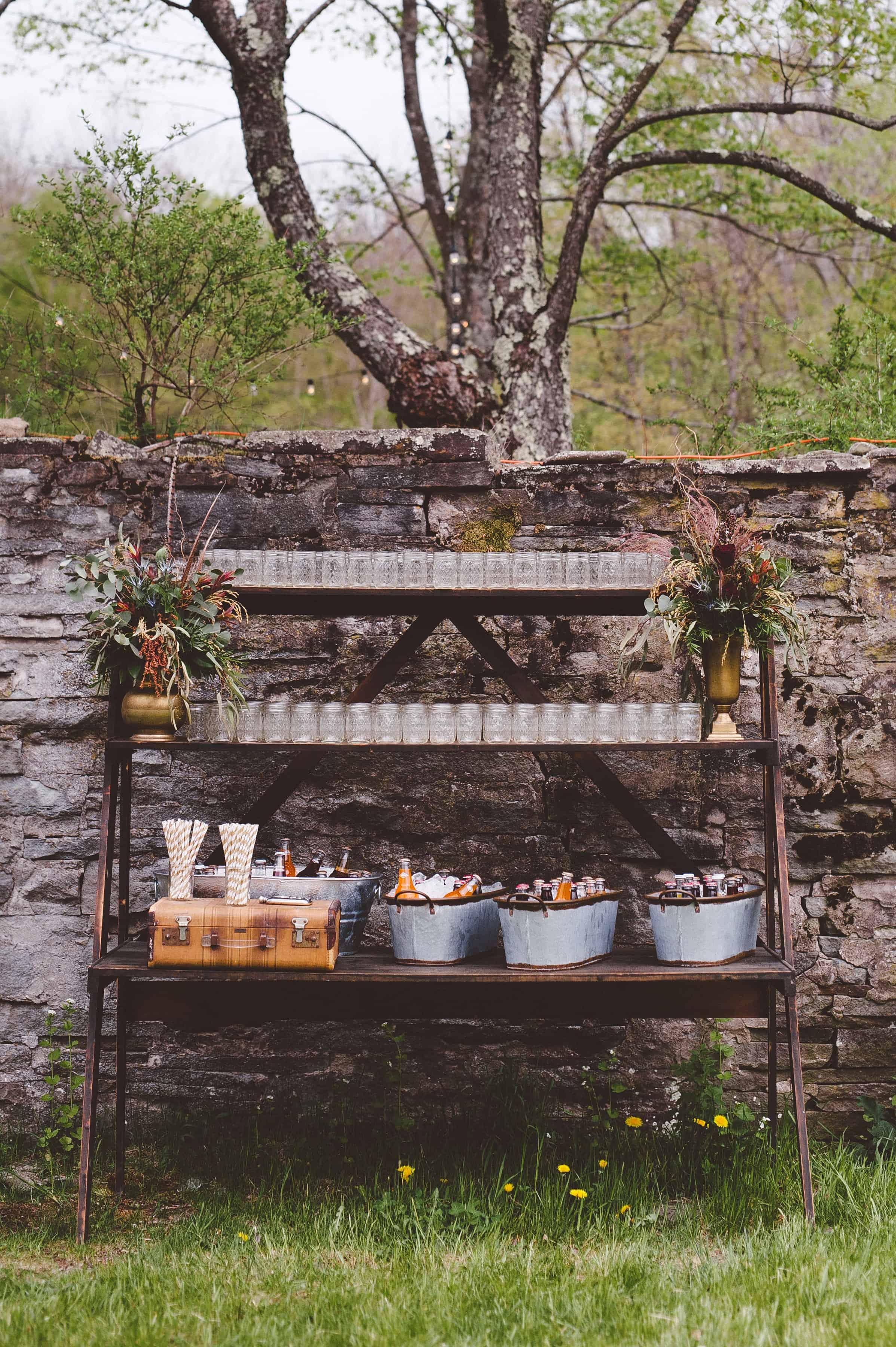 boho wedding - hudson valley vintage rentals