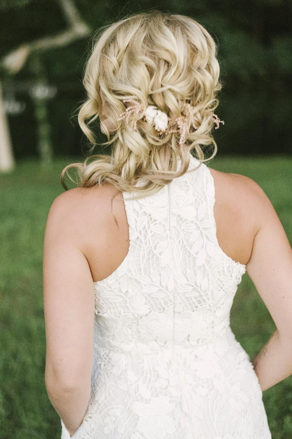 bridal hair - bw bridal