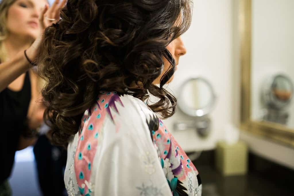 half up bridal hair