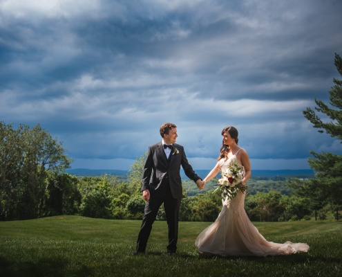 Hudson ny wedding - bride and groom