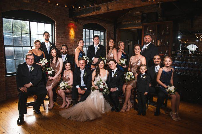 wedding party - hudson ny wedding