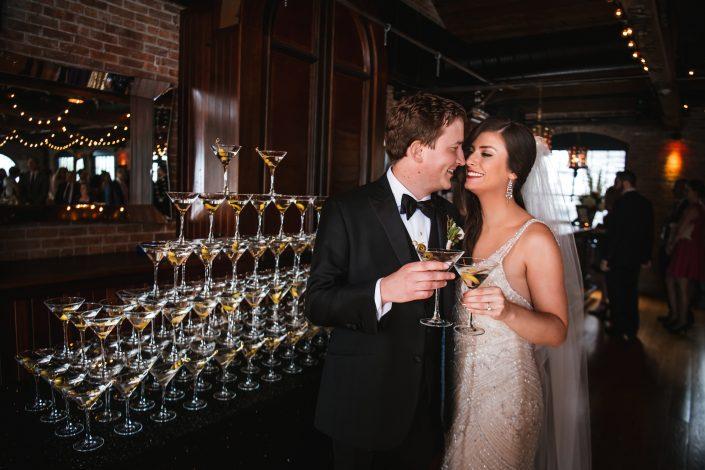 martini tower - hudson ny wedding